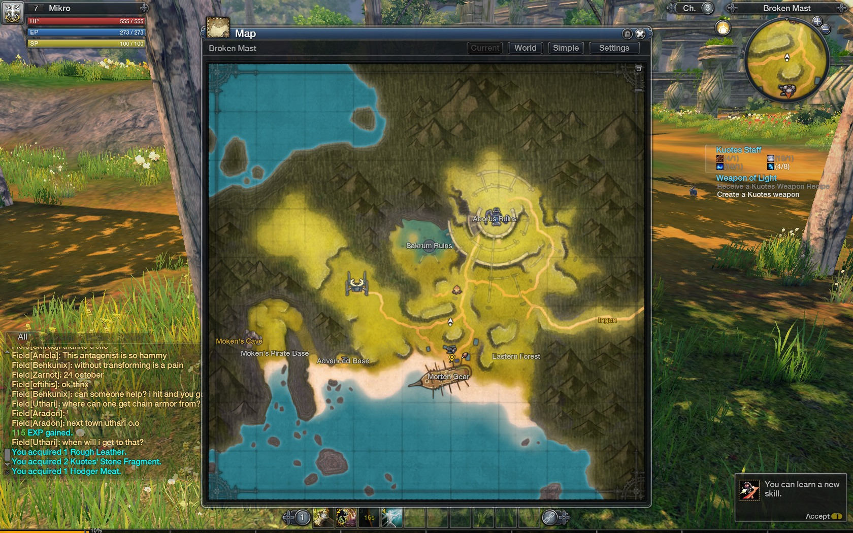 Thorn Hodger Location map